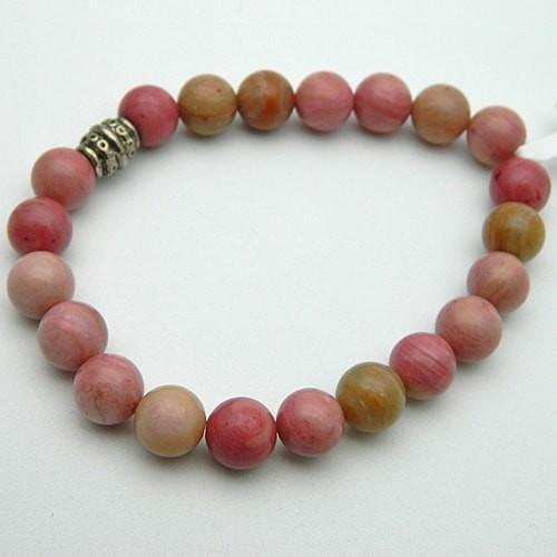 Rhodochrosite Gemstone Bracelet
