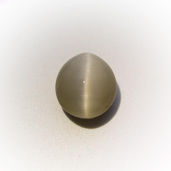 5.5 Carat 6.1 Ratti Natural Quartz Cat's Eye Gemstone
