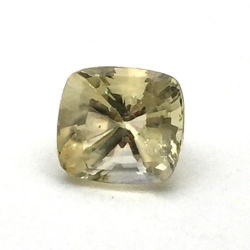 5.54 Carat Natural Ceylon Yellow Sapphire (Pukhraj) Gemstone