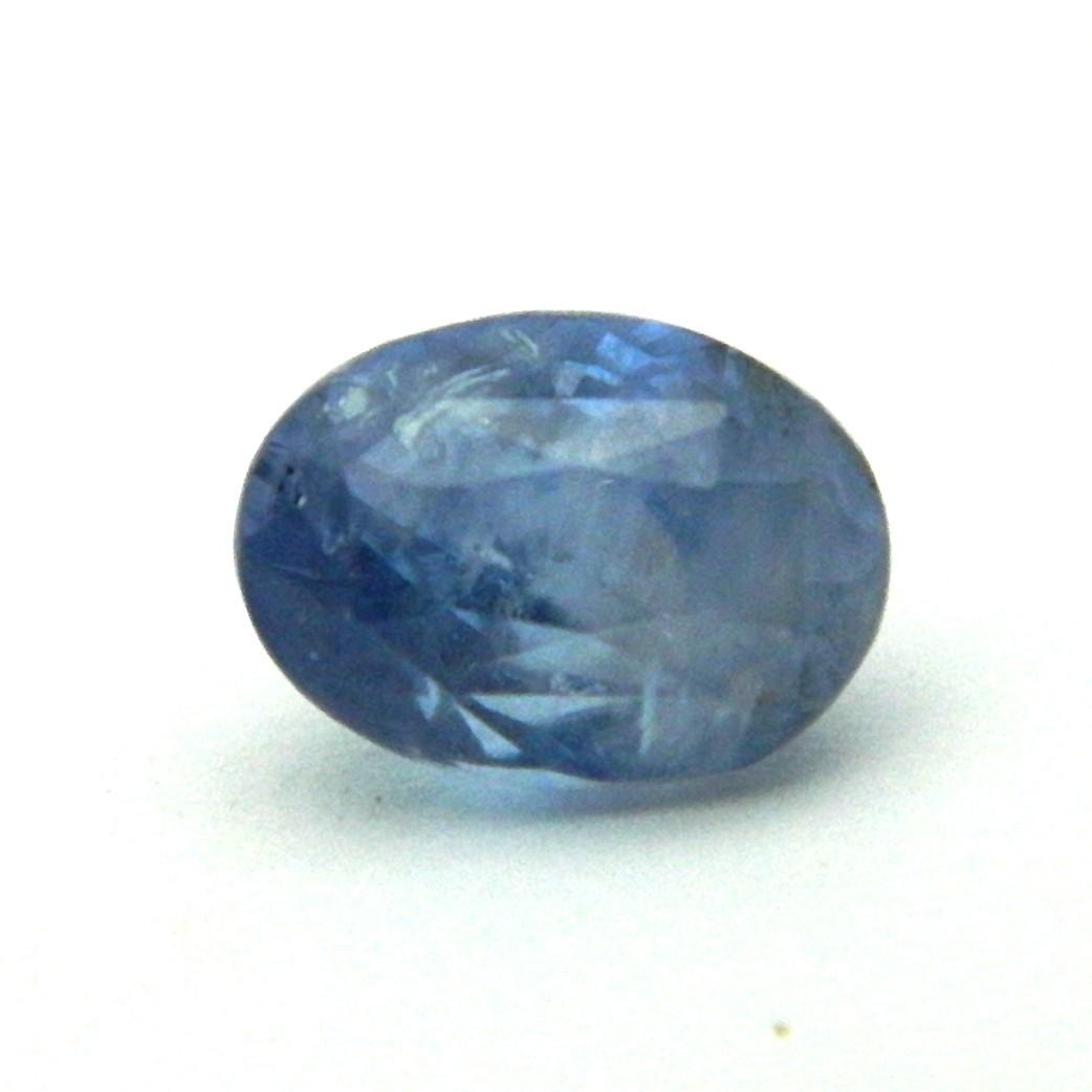 6.00 Carat/ 6.66 Ratti Natural Ceylon Blue Sapphire (Neelam) Gemstone