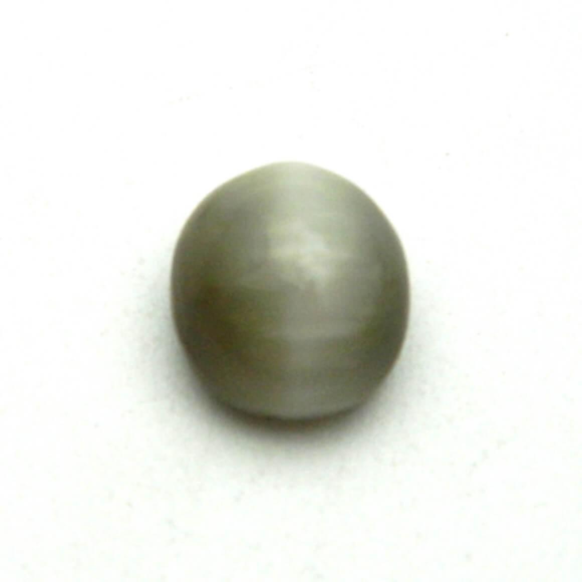 6.03 Carat/ 6.69 Ratti Natural Quartz Cat's Eye Gemstone