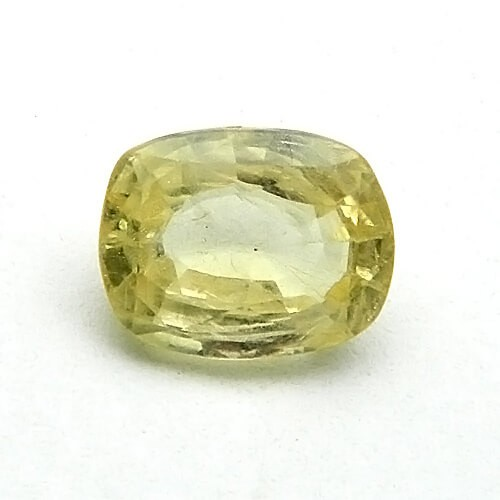 6.05 Carat/ 6.71 Ratti Natural Ceylon Yellow Sapphire (Pukhraj) Gemstone