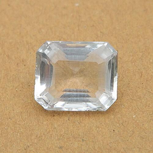 6.05 Carat/ 6.71 Ratti Natural Rock Crystal (Sphatik)