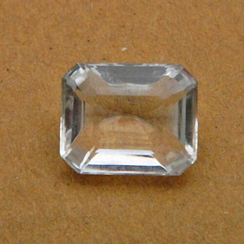 6.09 Carat/ 6.75 Ratti Natural Rock Crystal (Sphatik)