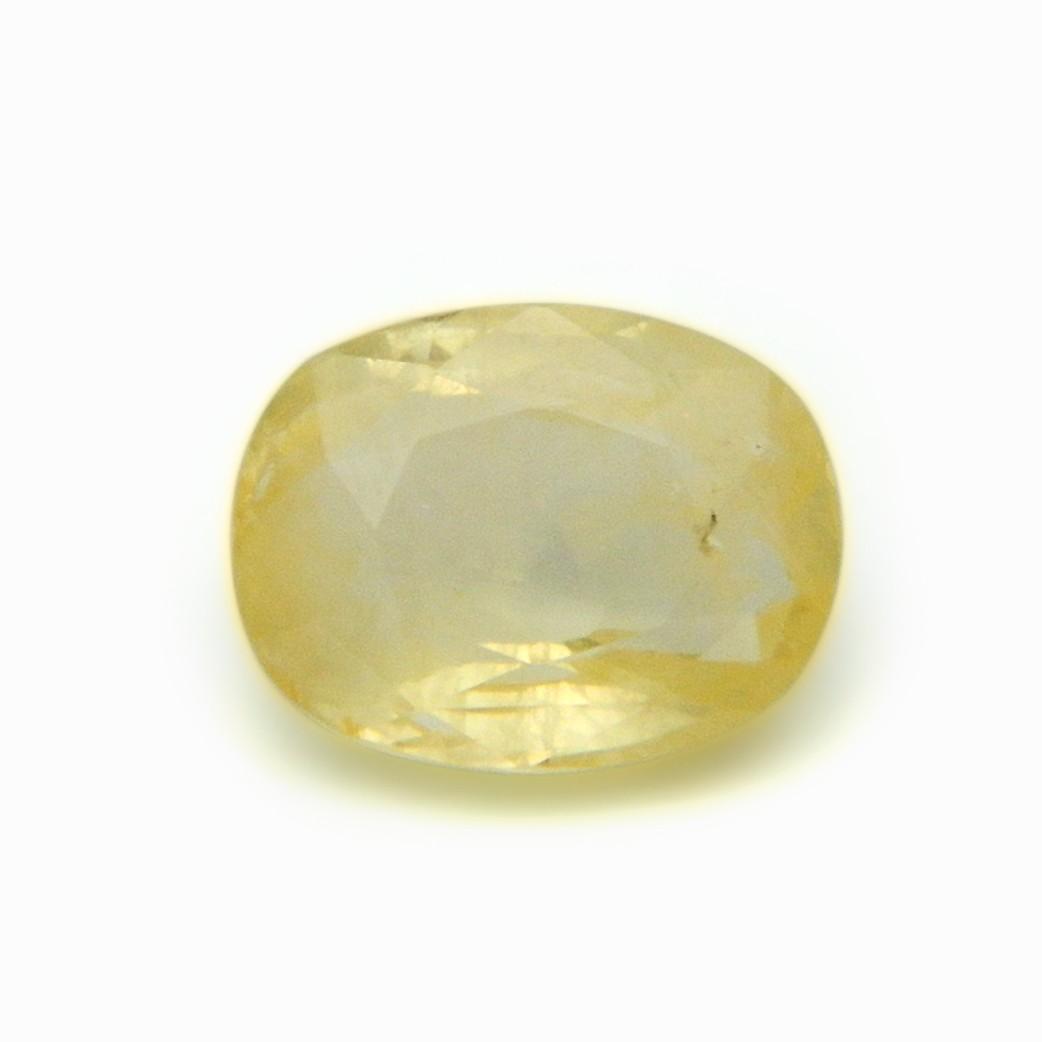 6.33 Carat/ 7.02 Ratti Natural Ceylon White Sapphire Gemstone