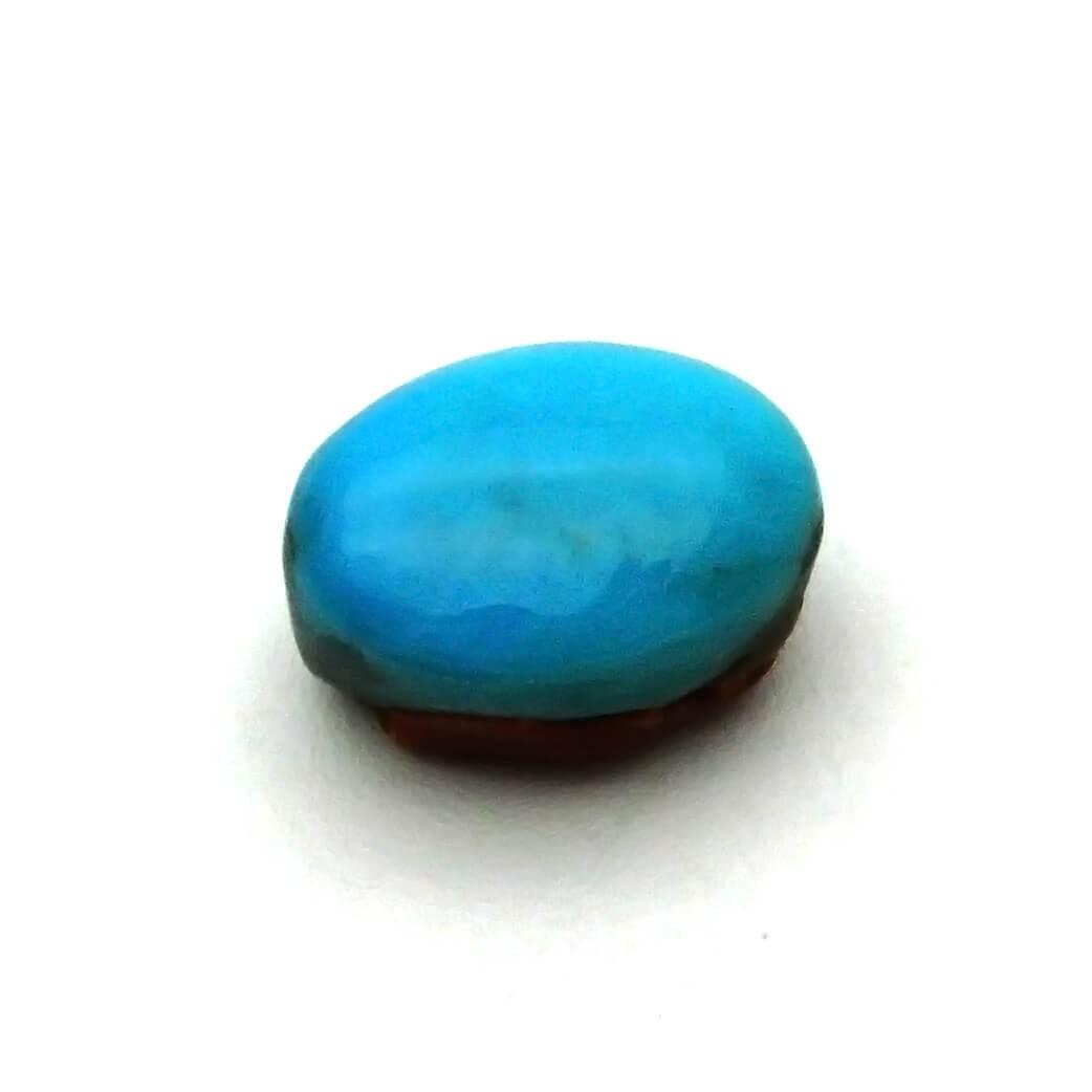 6.33 Carat/ 7.02 Ratti  Natural Turquoise (Firoza) Gemstone