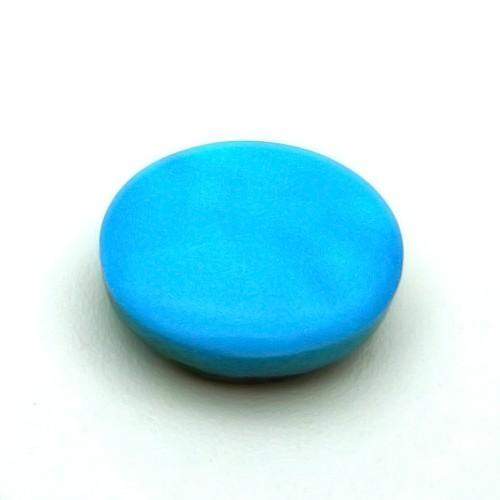 6.36 Carat/ 7 Ratti Natural Turquoise (Firoza) Gemstone