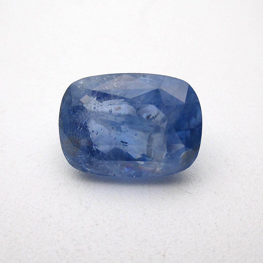 6.56 Carat/ 7.28 Ratti Natural Ceylon Blue Sapphire (Neelam) Gemstone