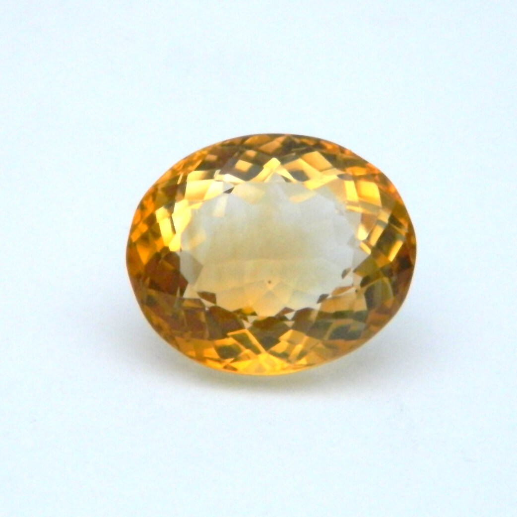 6.74 Carat/ 7.48 Ratti Natural Citrine (Sunela) Gemstone