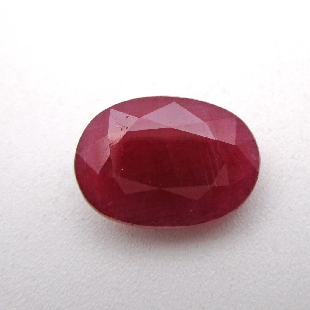 6.75 Carat/ 7.50 Ratti Natural African Ruby (Manik) Gemstone