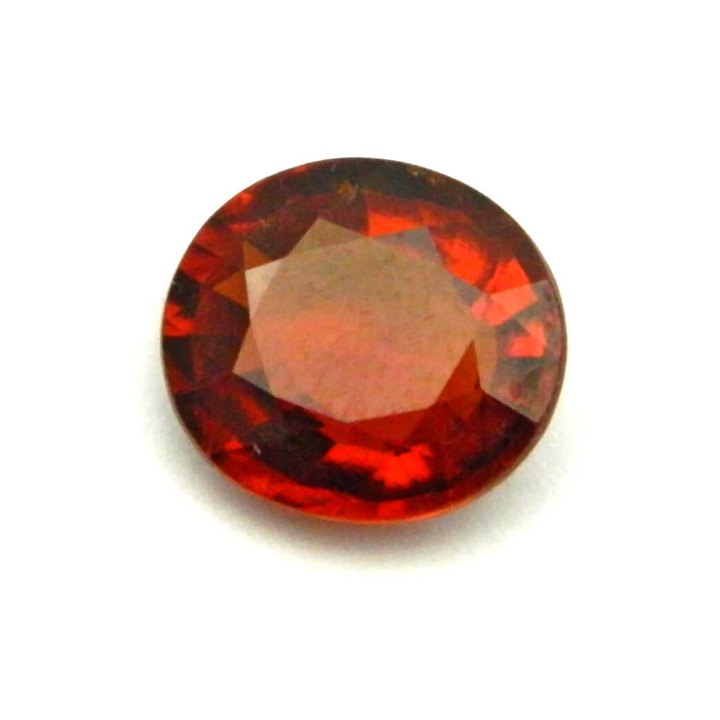 6.85 Carat/ 7.60 Ratti  Natural Ceylon Hessonite Garnet (Gomed) Gemstone