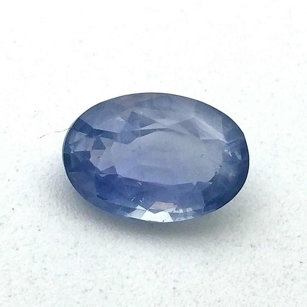 5.51  Carat  Natural Blue Sapphire (Neelam) Gemstone