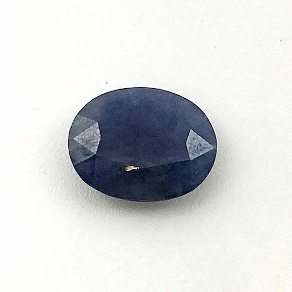 5.09  Carat  Natural Blue Sapphire (Neelam) Gemstone