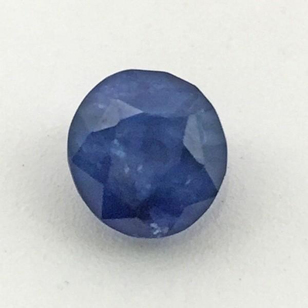 4.09 Carat  Natural Blue Sapphire (Neelam) Gemstone