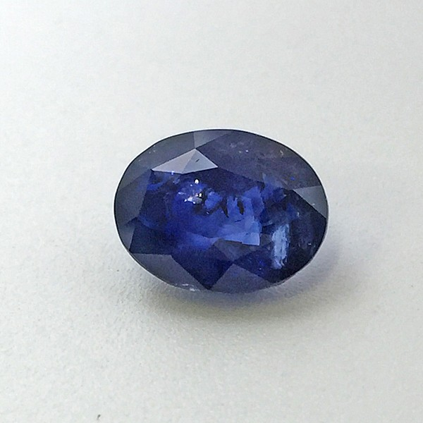 5.01 Carat Natural Transparent Blue Sapphire (Neelam) Gemstone