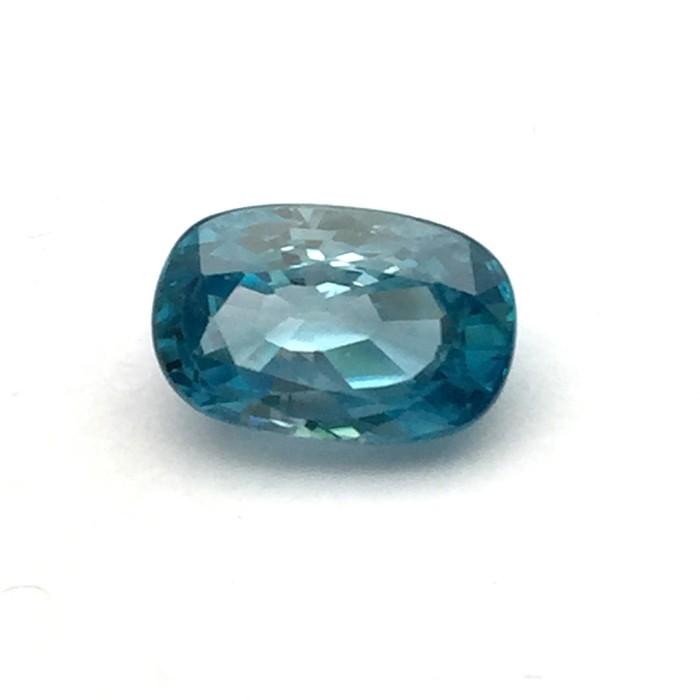 6.20 Carat  Natural Blue Zircon Gemstone