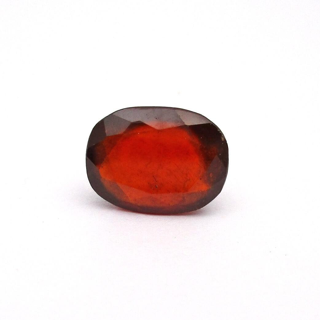 6.50 Carat/ 7.22 Ratti Natural African Hessonite Garnet (Gomed) Gemstone