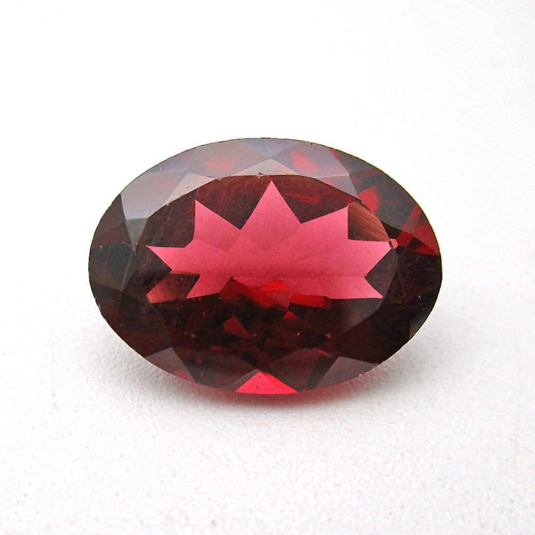 6.88 Ratti Best Quality Natural Red Garnet Stone