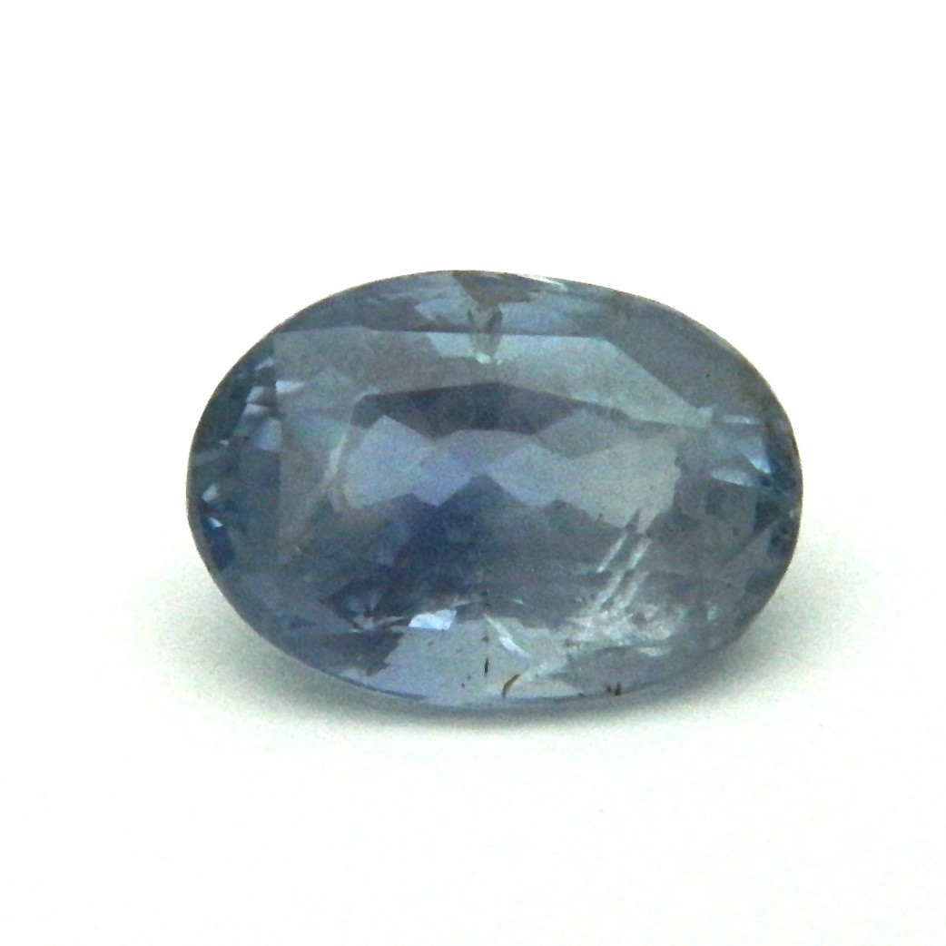 7.31 Carat/ 8.11 Ratti Natural Ceylon Blue Sapphire (Neelam) Gemstone