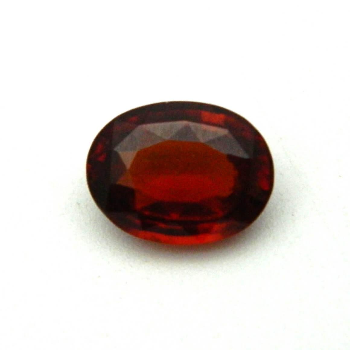 7.37 Carat/ 8.18 Ratti Natural Ceylon Hessonite Garnet (Gomed) Gemstone