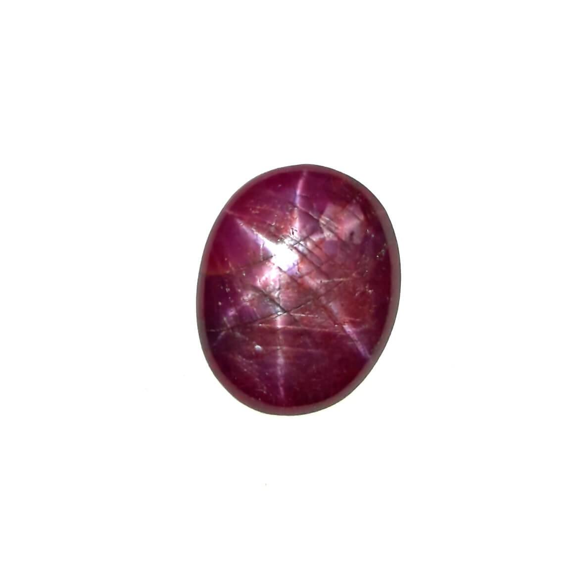 7.82 Carat/ 8.68 Ratti Natural African Star Ruby (Manik) Gemstone