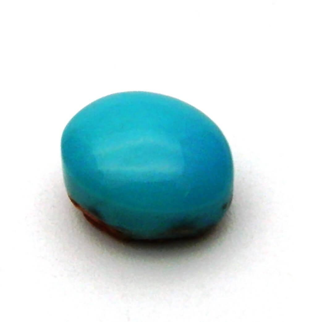 7.84 Carat/ 8.70 Ratti  Natural Turquoise (Firoza) Gemstone