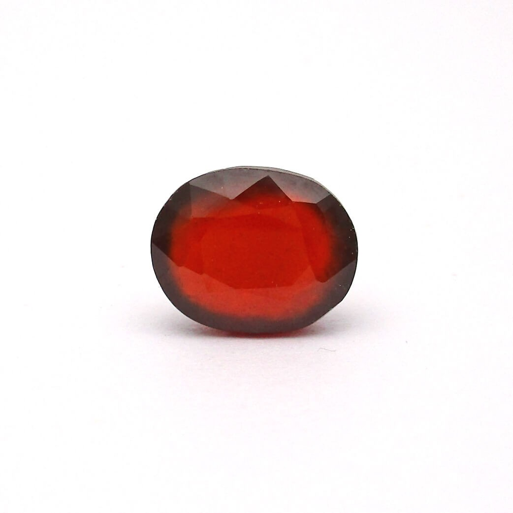 7.30 Carat/ 8.11 Ratti Natural African Hessonite Garnet (Gomed) Gemstone