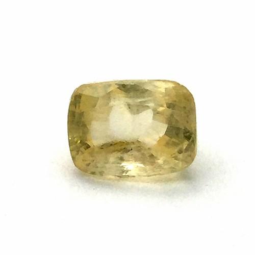 7.60 Carat Natural Ceylon Yellow Sapphire (Pukhraj) Gemstone