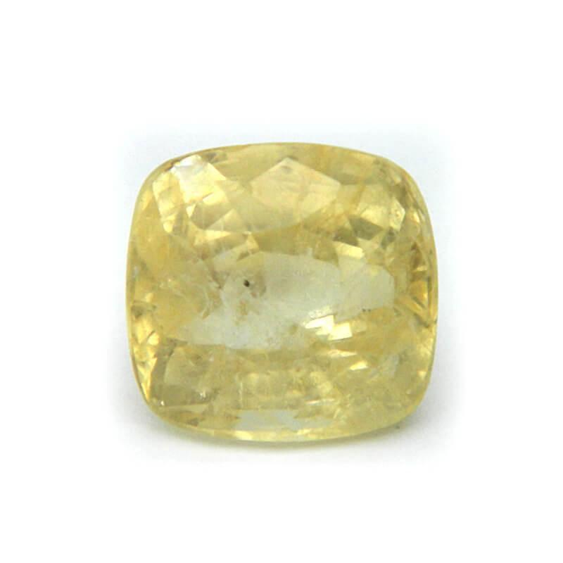 8.23 Carat/ 9.13 Ratti Natural Ceylon Yellow Sapphire Gemstone