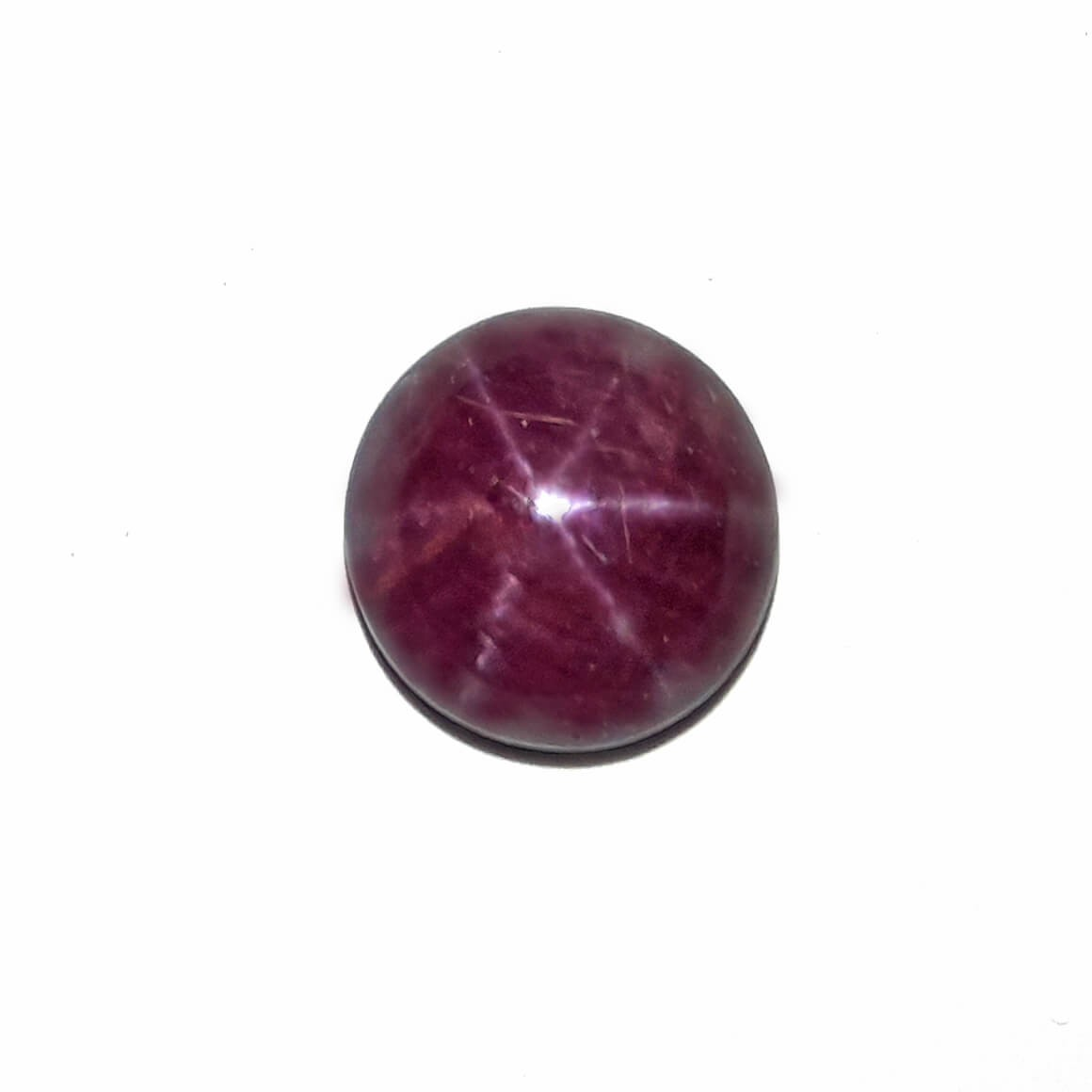 8.26 Carat/ 9.17 Ratti Natural African Star Ruby (Manik) Gemstone