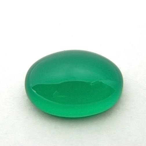 12.68 Carat  Natural Green Onyx Gemstone