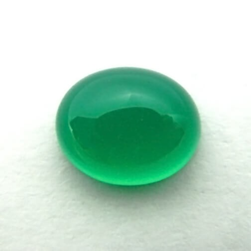 cts st faceted eye gemstone onyx stone emerald clean colour auctions