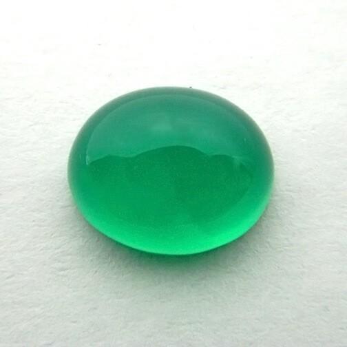 5.37 Carat Natural Green Onyx Gemstone