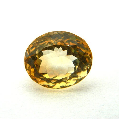 5.92 Carat  Natural Citrine (Sunela)  Gemstone