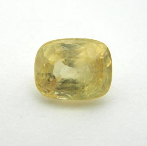 6.02 Carat Natural Yellow Sapphire (Pukhraj) Gemstone