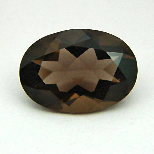 4.89 Carat Natural Smoky Quartz Gemstone