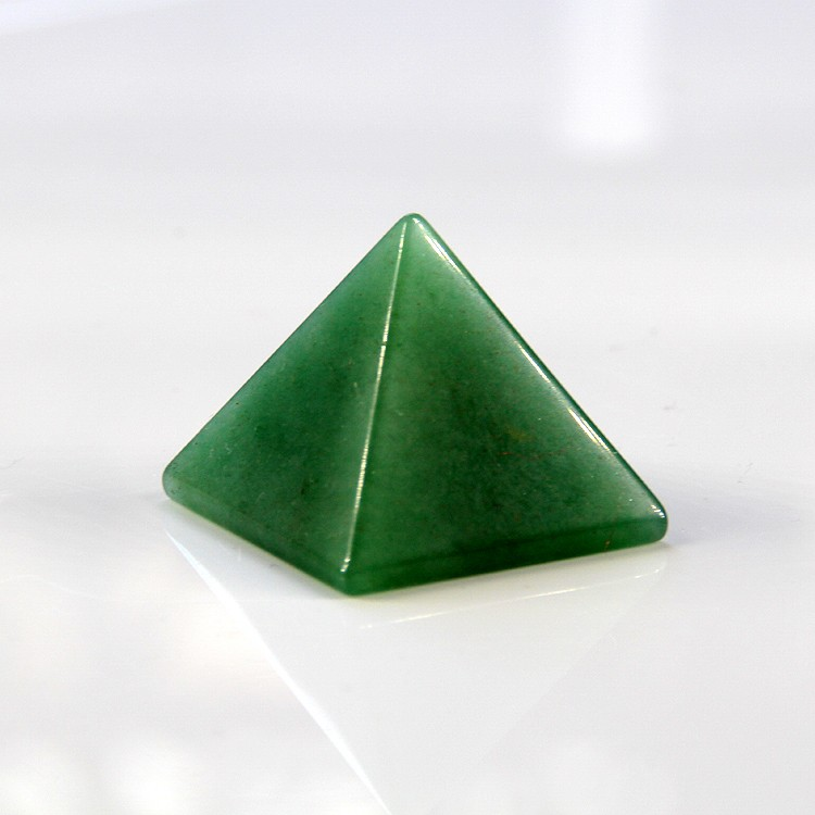 Natural Aventurine Crystal Quartz Pyramid