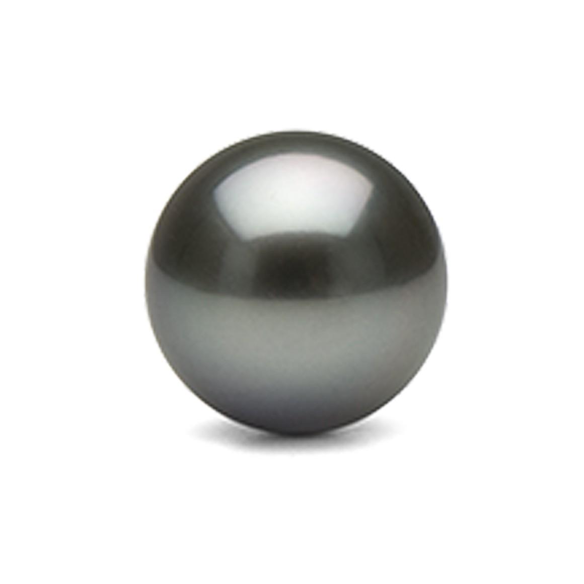 7.24 Carat/ 8.03 Ratti tahitian black pearl (Moti) Gemstone