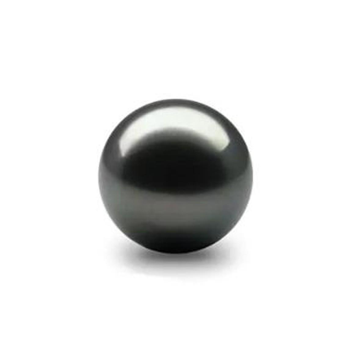 9.39 Carat/ 10.42 Ratti tahitian black pearl (Moti) Gemstone