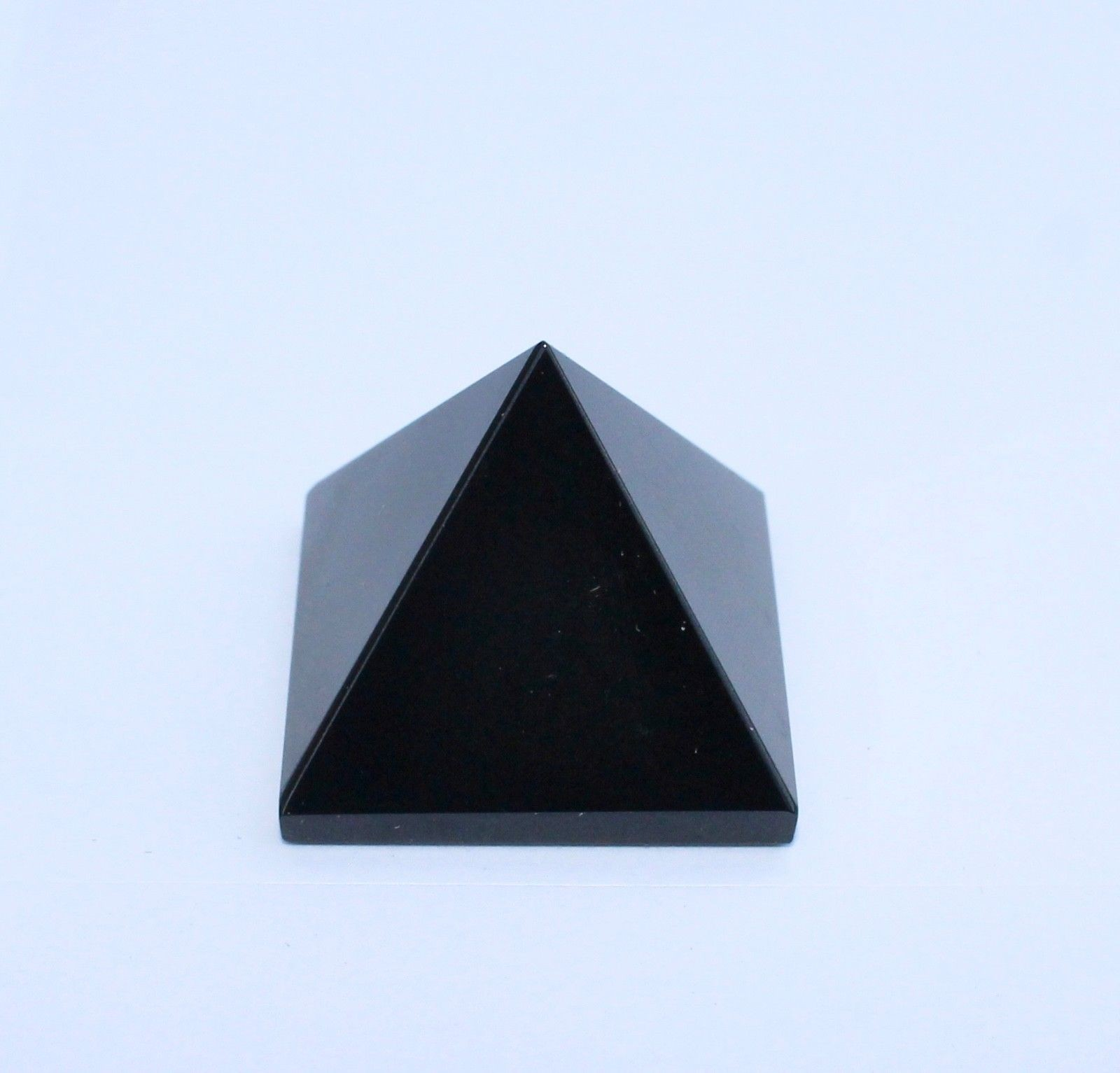 Natural Black Tourmaline Pyramid