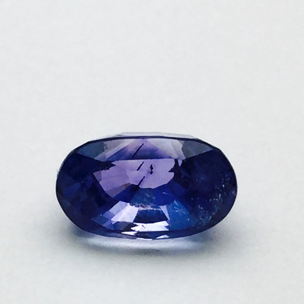 4.15 Carat Natural Ceylon Blue Sapphire (Neelam) Gemstone