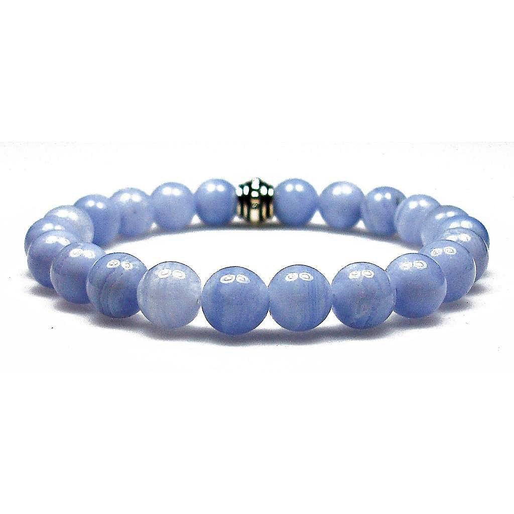 Natural Blue Lace Agate Gemstone