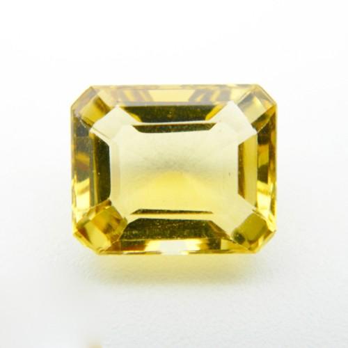 6 Carat Natural Citrine Gemstone