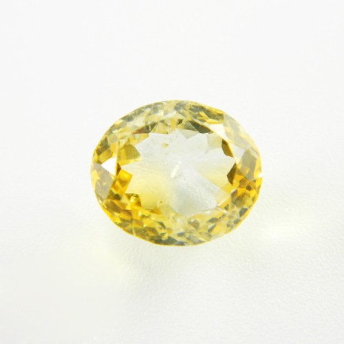 6.43 Carat Natural Citrine Gemstone