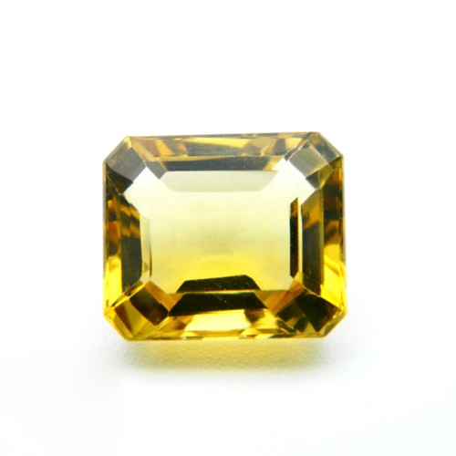 7.27 Carat Natural Citrine Gemstone