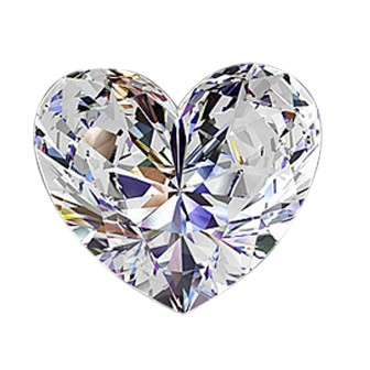 2.03 Carat Natural Heart Shape Diamond