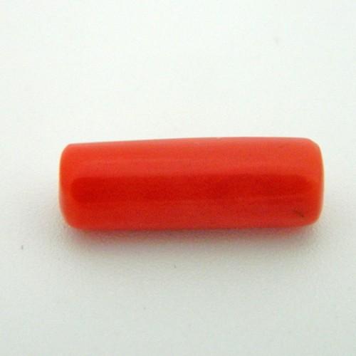 7.32 Carat Natural Coral (Moonga) Gemstone