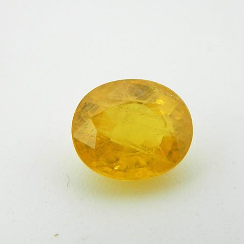 5.20 Carat Natural Yellow Sapphire (Pukhraj) Gemstone