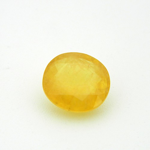 5.75 Carat Natural Yellow Sapphire (Pukhraj) Gemstone