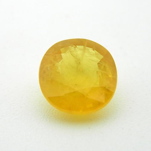 5.96 Carat Natural Yellow Sapphire (Pukhraj) Gemstone